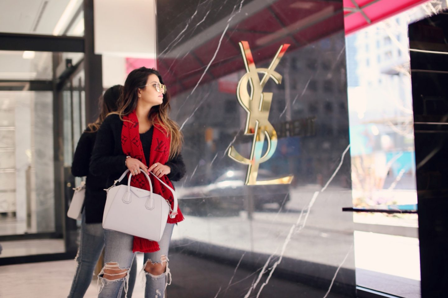 The New YSL Boutique in Yorkville